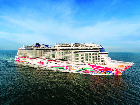 norwegian cruise line takes delivery of new norwegian joy travel