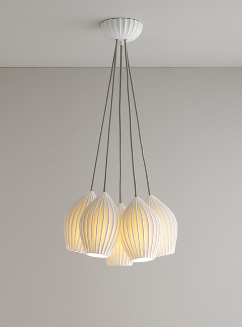 Organic Form Fin Pendant By Original Btc Hotel Management