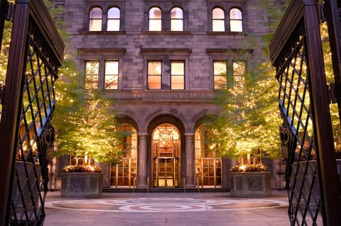 Lotte New York Palace Exterior Editorial Only