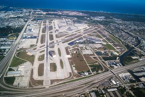 Runways at Fort Lauderdale Airport