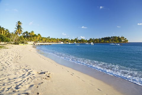 Morris Bay Beach in Antigua