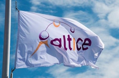 Altice USA flag