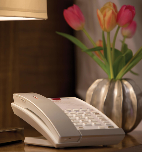 Will the guestroom of the future include a phone?
