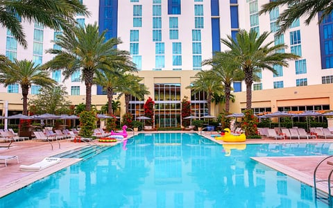 The Cool Pool Of Week Hilton West Palm Beach Travel