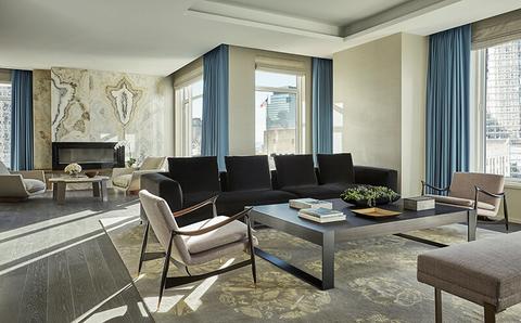Dream Suite Four Seasons Hotel New York Downtown S Royal Suite Luxury Travel Advisor