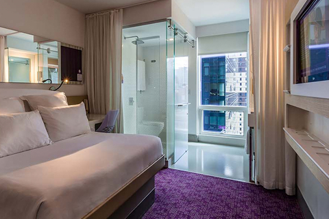 Softroom London Cullen West Interiors Collaborate For Yotel S