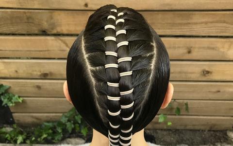 Hairbrained Zipper Braid