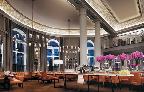 Corinthia Hotel London's The Northall restaurant serves seasonal British fare.