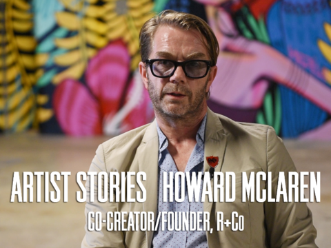 Howard McLaren Artist Stories