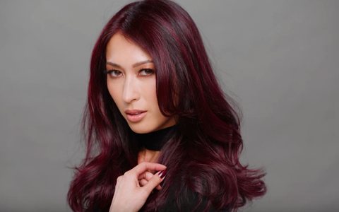 Color How To Midnight Rose With Guy Tang American Salon