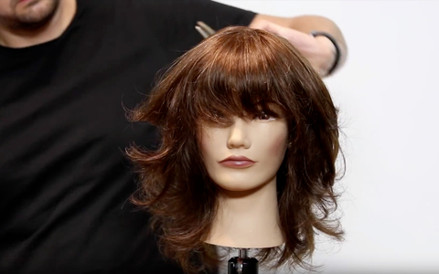 How To Video Long Layered Shag American Salon