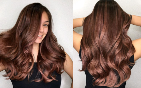 Color How To Dark Rose Gold American Salon