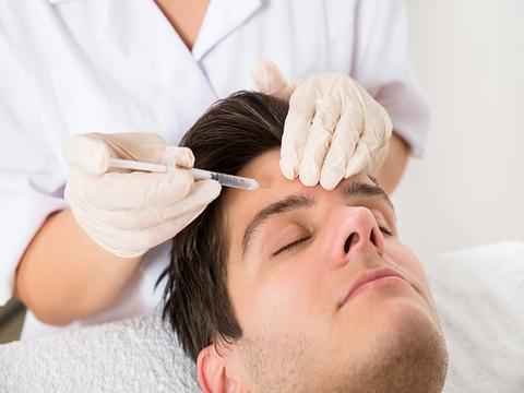 Men and Botox