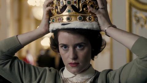 Netflix series The Crown