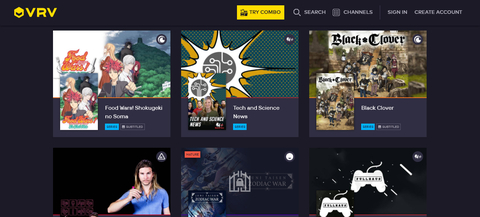 Multichannel SVOD VRV has more than 1M monthly active users