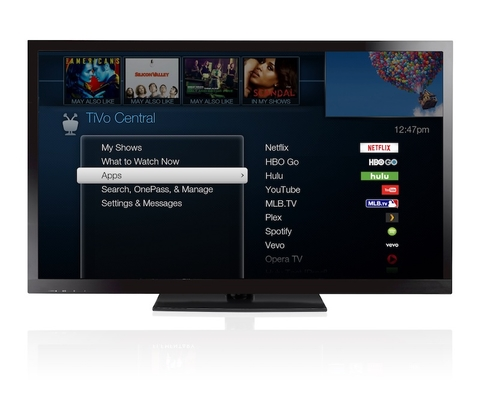 TiVo interface