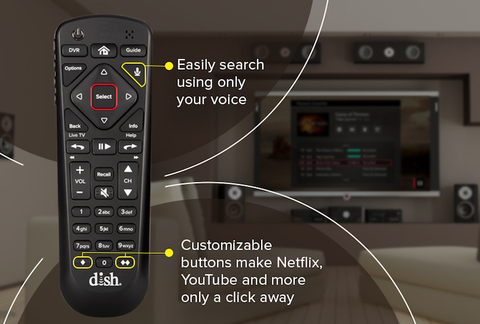 Dish rolls out second-gen voice remotes with Hopper DVRs