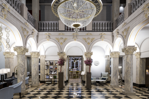 interior of a Ritz Carlton