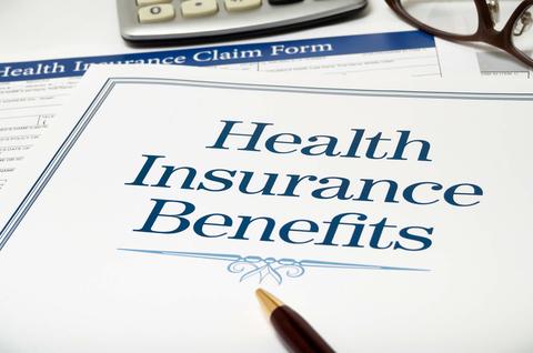 Health insurance benefits form
