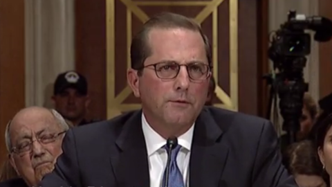 Hhs Secretary Nominee Alex Azar Tells Senate Panel That Reducing Drug Prices Would Be His Top Priority Fiercehealthcare