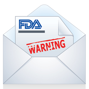FDA hits Chinese drugmaker with warning letter over manufacturing issues