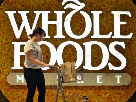 Whole Foods shopper