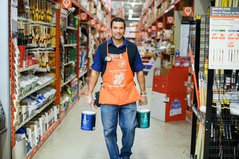 Home Depot associate