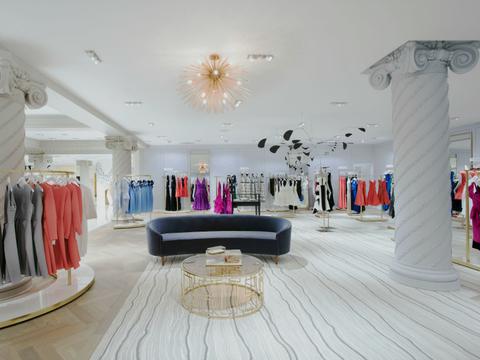 Lord & Taylor dress shop