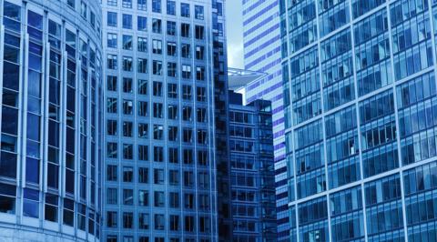 Multi-tenant office buildings. Image: Pixabay