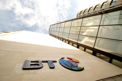 BT office in UK