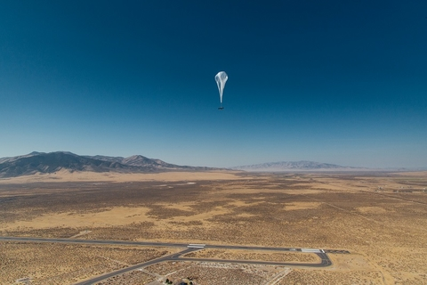 Project Loon balloon (X)
