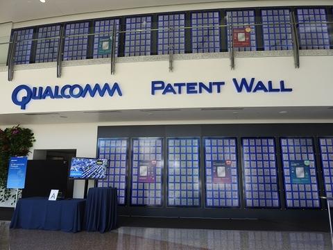 Qualcomm patent wall