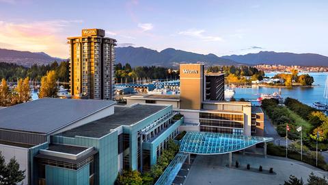 exterior of Westin Bayshore, Vancouver
