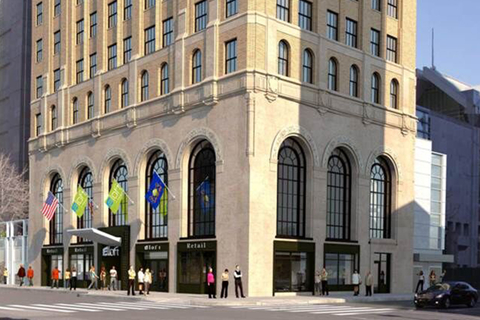 Three firms combine for new aloft in former liberty title - Philadelphia interior design firms ...