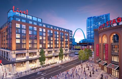 Loews Hotels First St Louis Property Is A 65m Ballpark Development