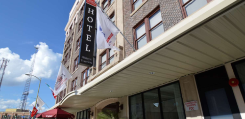 The hotel, which is more than 100 years old, recently completed a full renovation to mix a modern design with historic accents.