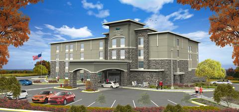 Frontier Development Begins Construction On New Homewood In Largo Md