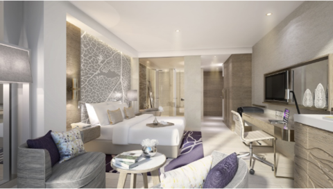 Al Bandar Rotana, Dubai guestroom