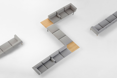 Introducing Lapse, a modular seating system created by Spanish designer Carlos Tiscar.