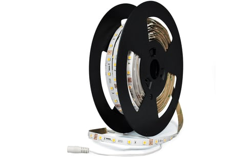 Nora Lighting added 100' Continuous Rolls to its line of LED tape lights.