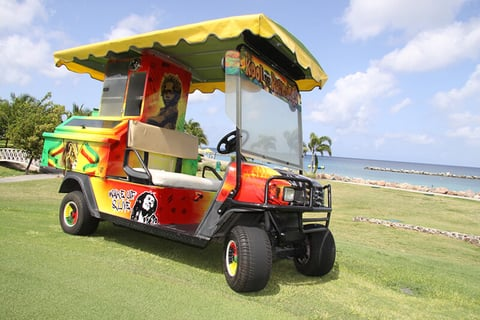 Four Seasons Resort Nevis Kool Rummings Rum Cart
