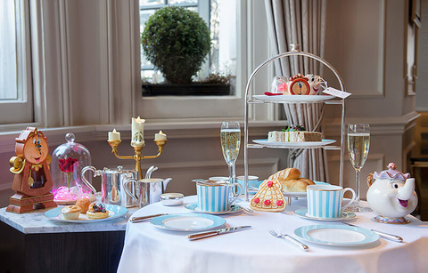 Town House at The Kensington London Tale as Old as Time Afternoon Tea