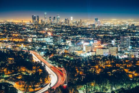Los Angeles skyline - ferrantraite/iStock/GettyImagesPlus/GettyImages