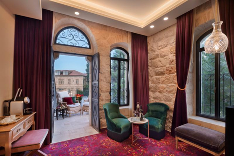 Terrace Suite at Villa Brown Jerusalem