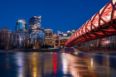 Peace Bridge Calgary Canada