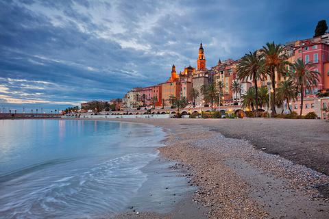 Menton, Provence, France