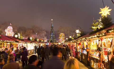 Hyde Park Winter Wonderland, London