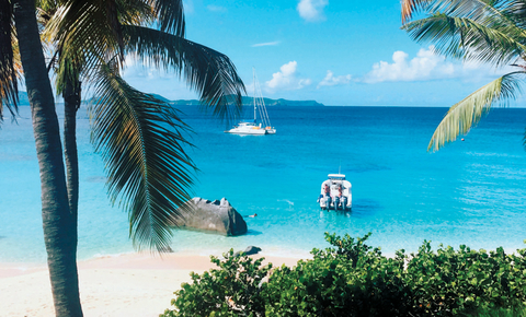 Sail Away: The BVI is where visitors coast from one isle to another, with a free-style vibe.