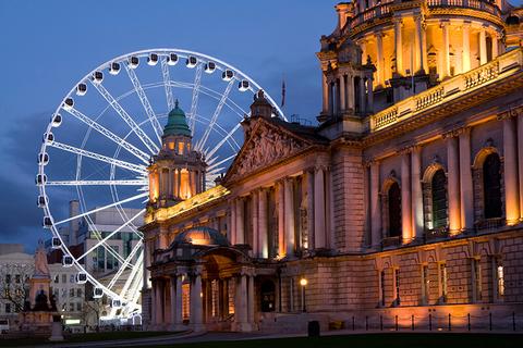 Ferris Wheel in Belfast, Northern Ireland