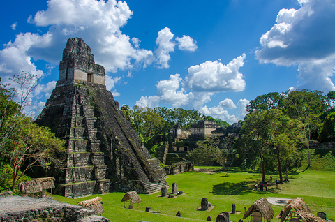 Tikal Maya ruins Guatemala -  SimonDannhauer/iStock/Getty Images Plus/Getty Images